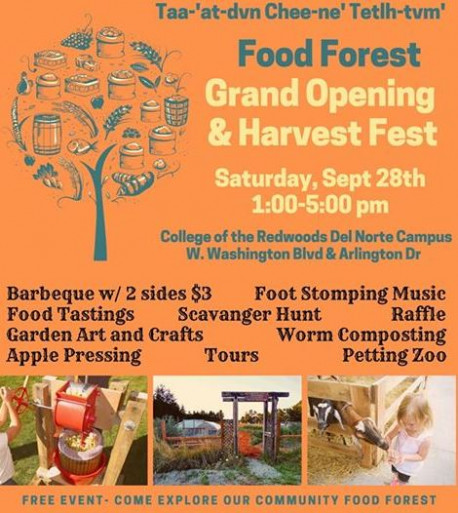 Visit the Food Forest Grand Opening